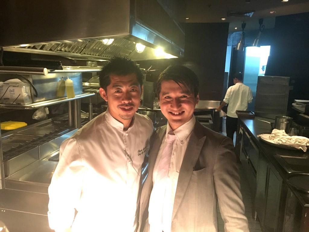 Ryuki Kawasakiさん。Mezzalunaで提供する料理について熱く語ってくださいました。美味しい料理をありがとうございました。