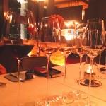 Wine at Mezzaluna