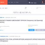 UN Job Site Search