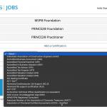 UNOPS Certificate List